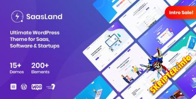 SaasLand v1.8.0 - тема WordPress для Saas и стартапов