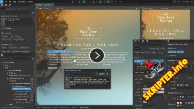 Pinegrow Web Editor v5.7 Cracked - программа для создания макетов сайтов