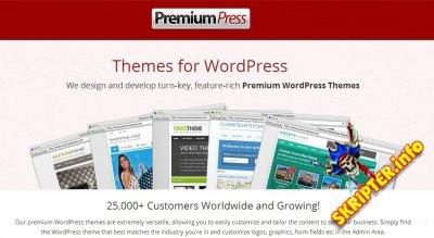 PremiumPress Themes Pack v9.2.5 Nulled - сборка шаблонов для WordPres от PremiumPress