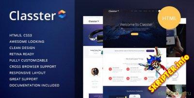 Classter v1.1 - многоцелевой HTML шаблон