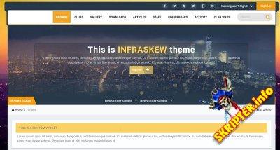 Infraskew v1.2.1 Rus - универсальный стиль для IPS