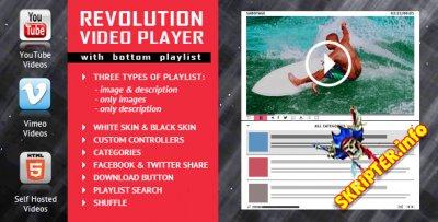 Revolution Video Player v1.7.4 - видеоплеер для сайта