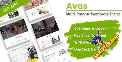Avas v6.0.8 Nulled - многоцелевая тема для WordPress