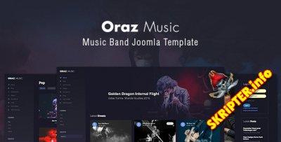 TZ Oraz v1.0.0 - музыкальный шаблон для Joomla
