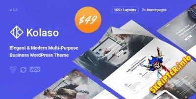 Kolaso v1.1.0 - современная многоцелевая тема для WordPress