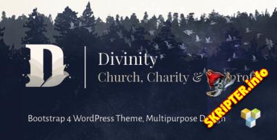 Divinity v1.3.2 - тема WordPress для Церкви