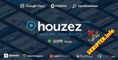 Houzez v1.8.4 Rus Nulled - шаблон недвижимости для WordPress
