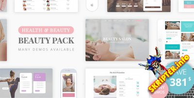 Beauty Pack v1.2 - шаблон салона красоты для WordPress