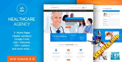 Health Care v2.1 - медицинский шаблон для WordPress