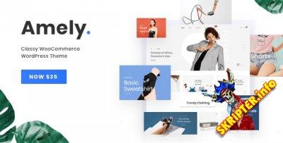 Amely v2.2.5 - тема WordPress для магазинов
