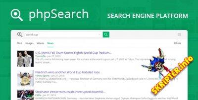 phpSearch v4.3.0 Nulled - скрипт поисковой системы