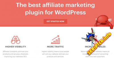 AffiliateWP v2.3.3 Nulled – плагин для создания партнёрской программы на WordPress