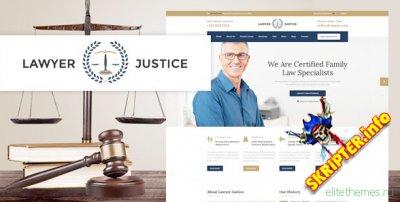 Justice v3.1.0 - шаблон Joomla для юридической фирмы
