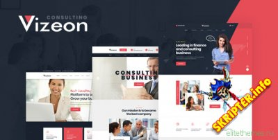 Vizeon v1.0  - корпоративный HTML шаблон