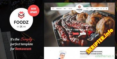 Foodz v3.0.4 – универсальный шаблон для Joomla
