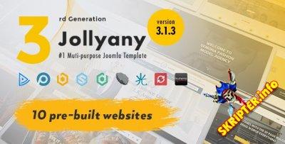 TZ Jollyany v3.1.3 - многоцелевой шаблон для Joomla
