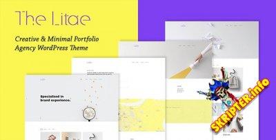 The Litae v1.4.0 - портфолио WordPress тема