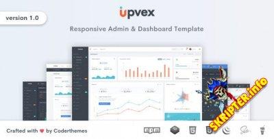 Upvex v1.0.0 - шаблон администратора и панели инструментов
