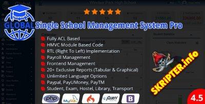 Global Pro v4.5 - система управления учебным заведением