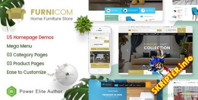 Furnicom v1.0 - HTML-шаблон интернет-магазина