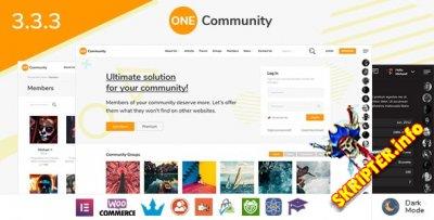 OneCommunity v3.3.3 - социальная сеть в коробке