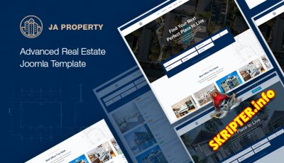 JA Property v1.0.3 - шаблон сайта недвижимости для Joomla