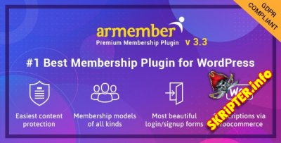 ARMember v3.3.2 Nulled – плагин членства для WordPress