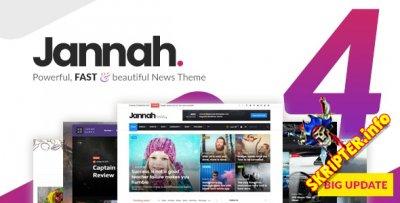 Jannah News v4.6.3 Nulled - новостная тема для WordPress
