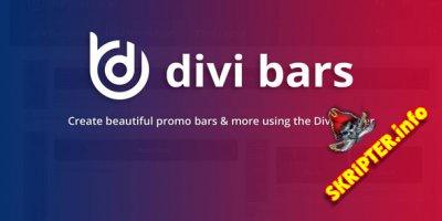 Divi Bars v1.6.3  Nulled - промо-бары для Divi Builder WordPress