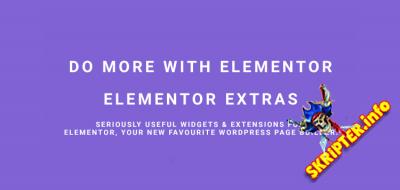 Elementor Extras v2.2.7 Nulled - виджеты и расширения для Elementor