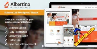 Albertino v1.6.1 - исследования и технологии WordPress тема