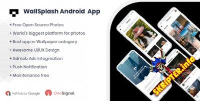 WallSplash v1.0 - андроид приложение для обоев