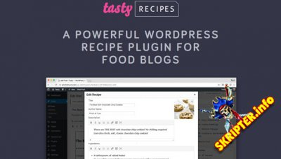 Tasty Recipes v2.4.0 - плагин для создания рецептов на WordPress