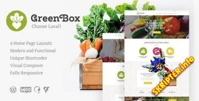 Green Box v1.2 - тема WordPress для фермы и магазина органических продуктов