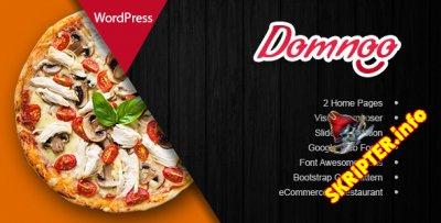 Domnoo v1.14 - тема WordPress для сайтов пиццерий и ресторанов