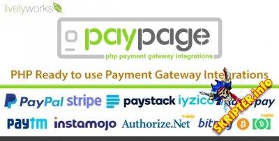 PayPage v1.3.0 - скрипт интеграции с платежными шлюзами