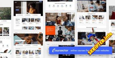 Coursector v1.4.1 Nulled - тема образования для WordPress