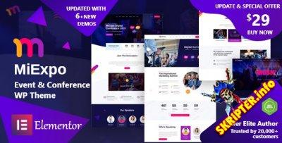 MiExpo v1.0 - тема WordPress для конференций