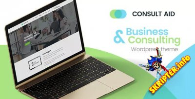 Consult Aid v1.4.1 - бизнес-консалтинг и финансы WordPress тема