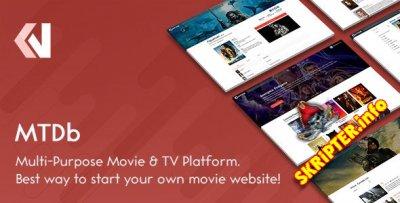 MTDb v3.2.1 - скрипт для создания кино сайта