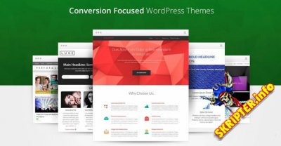 ThriveThemes Themes pack v1.501 Nulled - сборка шаблонов для WordPress