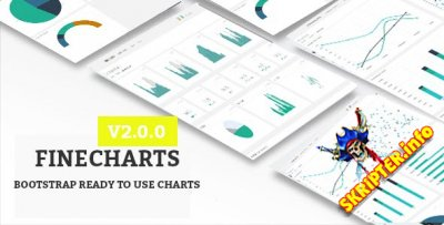 Finecharts v2.0.0 - гибкие готовые графики