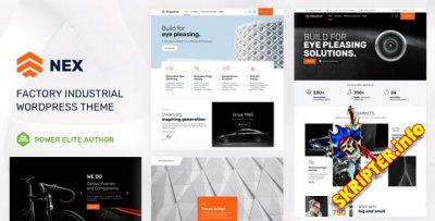 Nex v5.0 - бизнес тема для Wordpress