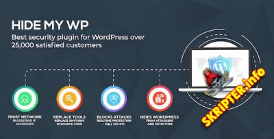 Hide My WP v6.0.1 Nulled - полное закрытие следов движка Wordpress