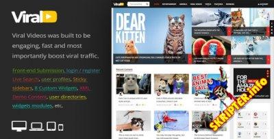 ViralVideo v2.0 - журнальная тема для WordPress