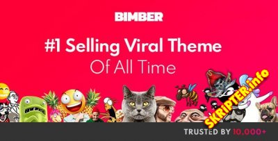 Bimber v7.6.1 Nulled - виpуcный мapкeтинг / блoг / жуpнaл WordPress шaблoн