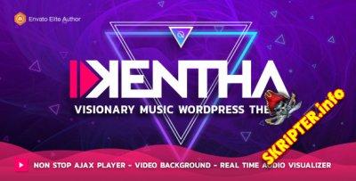Kentha v1.7.2 Nulled - музыкальная тема для WordPress