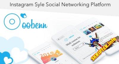 oobenn v3.7.3 Nulled - скрипт социальной сети в стиле Instagram