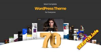XTRA v3.5 Nulled – многоцелевая тема для WordPress