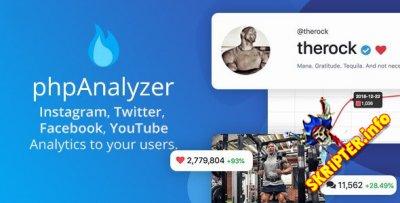 phpAnalyzer v3.1.2 Nulled - инструмент аудита Instagram